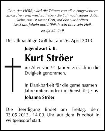 kirchgemeinde wittgensdorf, Einladung